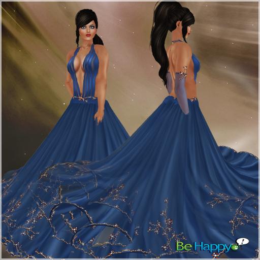 !BH ~ Lucille Dress Blue